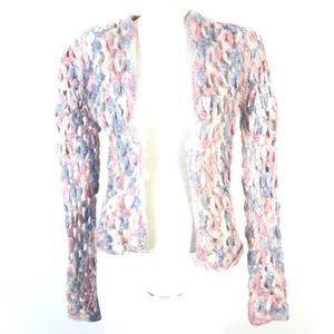 Hand knitted sweater cardigan